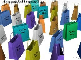 0914 Shopping Concept Colorful Shopping Bags Image Graphics For Powerpoint