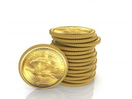 0914_stacking_of_american_dollar_coins_with_single_standing_coin_image_stock_photo_Slide01