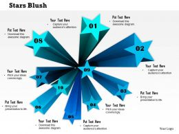 0914 Star Blush Business Concept Ppt Slide Image Graphics For Powerpoint