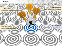 0914_target_dartboards_with_darts_image_graphics_for_powerpoint_Slide01