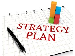 0914 Tools Of Business Strategy Plan Stock Photo