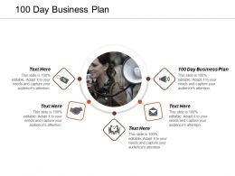 100 Day Business Plan Ppt Powerpoint Presentation Infographic Template Background Images Cpb