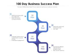 100 Day Business Success Plan