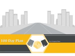 100 Day Plan Ppt Summary Graphics Download Deliver Strategic Proposal