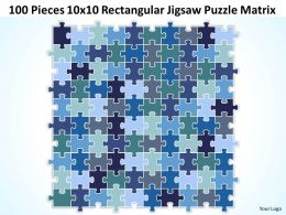 100_pieces_10x10_rectangular_jigsaw_puzzle_matrix_powerpoint_templates_0812_Slide01
