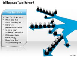 1013 3d Business Team Network Ppt Graphics Icons Powerpoint