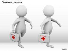 1013 3d Doctor Provides Medical Care Ppt Graphics Icons Powerpoint