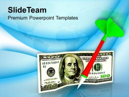 1013_3d_illustration_of_dart_and_dollar_powerpoint_templates_ppt_themes_and_graphics_Slide01