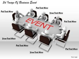 1013 3d Image Of Business Event Ppt Graphics Icons Powerpoint