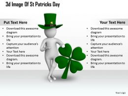 1013 3d Image Of St Patricks Day Ppt Graphics Icons Powerpoint