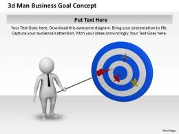 1013_3d_man_business_goal_concept_ppt_graphics_icons_powerpoint_Slide01