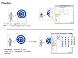 1013 3d Man Business Goal Concept Ppt Graphics Icons Powerpoint