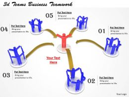 1013 3d Teams Business Teamwork Ppt Graphics Icons Powerpoint