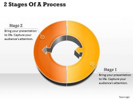 1013 Busines Ppt diagram 2 Stages Of A Process Powerpoint Template