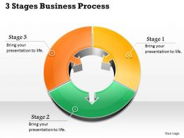1013 Busines Ppt diagram 3 Staged Business Process Powerpoint Template
