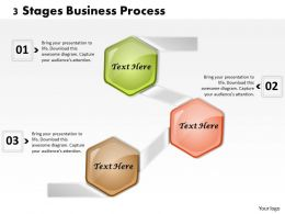 1013 Busines Ppt diagram 3 Stages Business Process Powerpoint Template