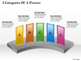 1013 Busines Ppt diagram 5 Categories Of A Process Powerpoint Template