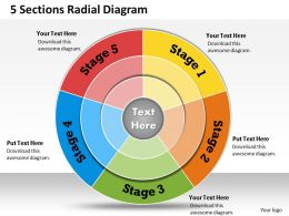 1013_busines_ppt_diagram_5_sections_radial_diagram_powerpoint_template_Slide01
