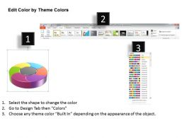 1013 Busines Ppt diagram 6 Sections Circular Chart Powerpoint Template