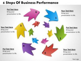 1013 Busines Ppt diagram 6 Steps Of Business Performance Powerpoint Template