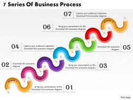 1013 Busines Ppt diagram 7 Series Of Business Process Powerpoint Template