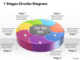 1013 Busines Ppt diagram 7 Stages Circular Diagram Powerpoint Template