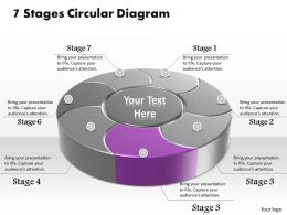 53251394 Style Division Donut 7 Piece Powerpoint Presentation Diagram Infographic Slide
