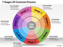 1013 Busines Ppt diagram 7 Stages Of Common Process Powerpoint Template