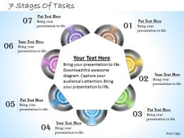 1013 Busines Ppt diagram 7 Stages Of Tasks Powerpoint Template