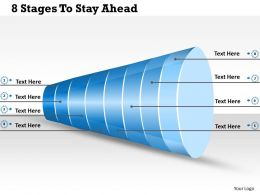 1013 Busines Ppt diagram 8 Stages To Stay Ahead Powerpoint Template