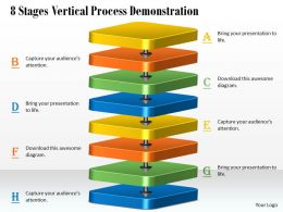 1013 Busines Ppt diagram 8 Stages Vertical Process Demonstration Powerpoint Template