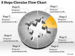 1013 Busines Ppt diagram 8 Steps Circular Flow Chart Powerpoint Template