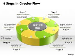 1013 Busines Ppt diagram 8 Steps In Circular Flow Powerpoint Template