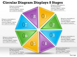 1013 Busines Ppt diagram Circular Diagram Displays 8 Stages Powerpoint Template
