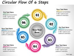 1013_busines_ppt_diagram_circular_flow_of_6_steps_powerpoint_template_Slide01