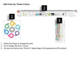 1013 Busines Ppt diagram Circular Flow Of 6 Steps Powerpoint Template