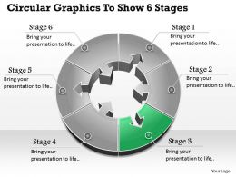 1013 Busines Ppt diagram Circular Graphics to Show 6 Stages Powerpoint Template