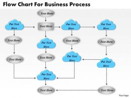 1013 Busines Ppt diagram Flow Chart For Business process Powerpoint Template