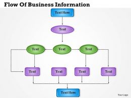 1013 Busines Ppt diagram Flow Of Business Information Powerpoint Template