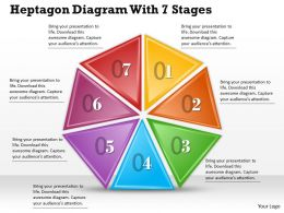 1013 Busines Ppt diagram Heptagon Diagram With 7 Stages Powerpoint Template