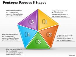 1013 Busines Ppt diagram Pentagon Process 5 Stages Powerpoint Template