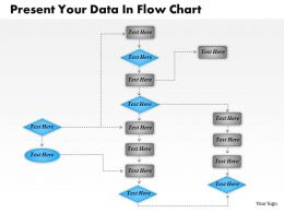 1013 Busines Ppt diagram Present Your Data In Flow Chart Powerpoint Template