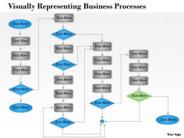 1013 Busines Ppt diagram Visually Representing Business Processes Powerpoint Template