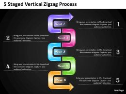 1013_business_plan_5_staged_vertical_zigzag_process_powerpoint_templates_ppt_backgrounds_for_slides_Slide01