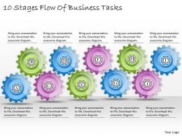 1013_business_ppt_diagram_10_stages_flow_of_business_tasks_powerpoint_template_Slide01