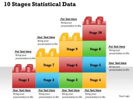 1013 Business Ppt diagram 10 Stages Statistical Data Powerpoint Template