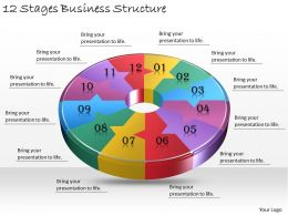 1013 Business Ppt diagram 12 Stages Business Structire Powerpoint Template
