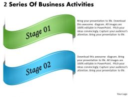 1013 Business Ppt diagram 2 Series Of Business Activities Powerpoint Template