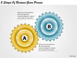 1013 Business Ppt diagram 2 Stages Of Business Gears Process Powerpoint Template