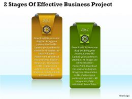 1013 Business Ppt diagram 2 Stages Of Effective Business Project Powerpoint Template